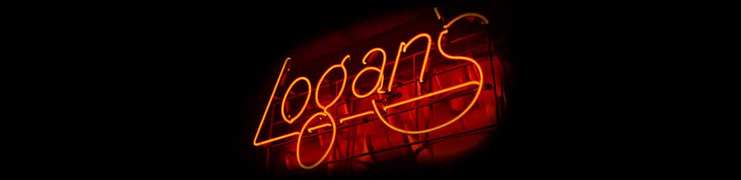 Logan's Roadhouse Neon Sign