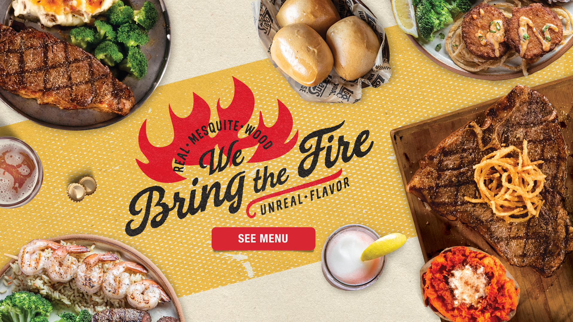 We Bring the Fire! See Our New Summer Menu